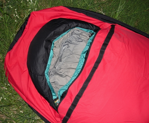 Red Breatex Bivy Sack