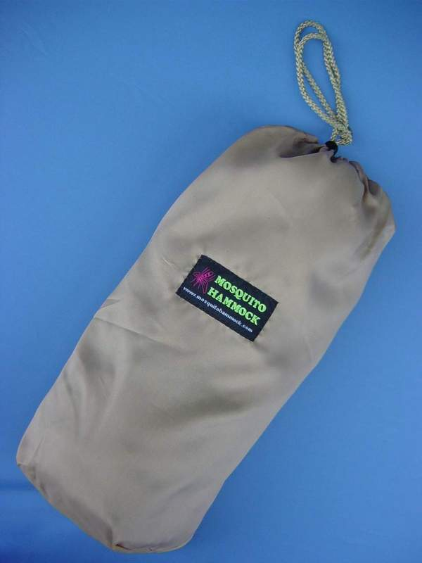 "Mosquito Hammock Stuff Sack - 4"" x 4"" x 12"" (weight: 2 Lbs.)"
